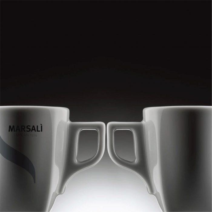 Manico tazzina caffè Marsalì, design Stella Orlandino