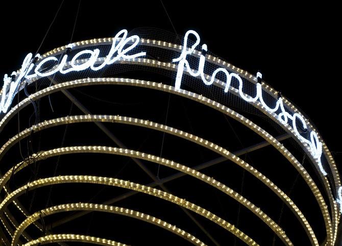 Light Vortice, installazione luminaria Milano Navigli