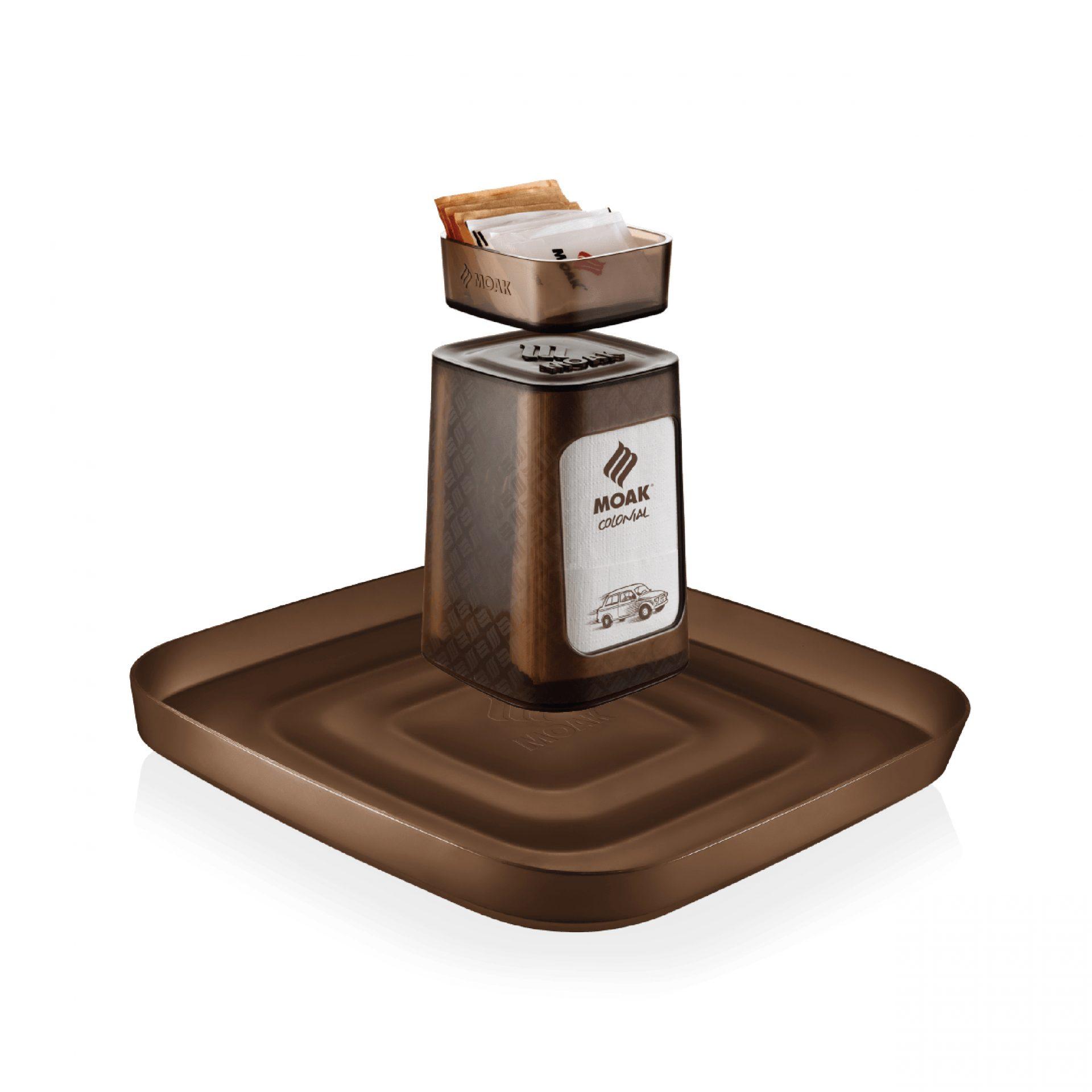Barista Design Set, Caffè Moak, Stella Orlandino design