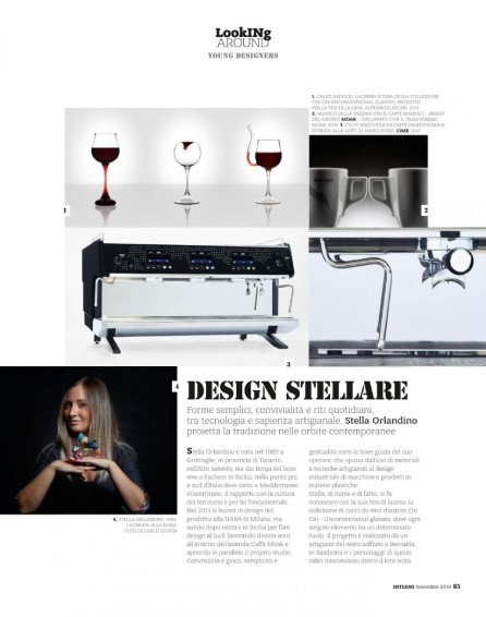 Intervista Interni, Stella Orlandino design