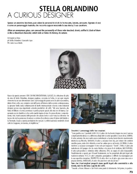 Intervista Stella Orlandino design