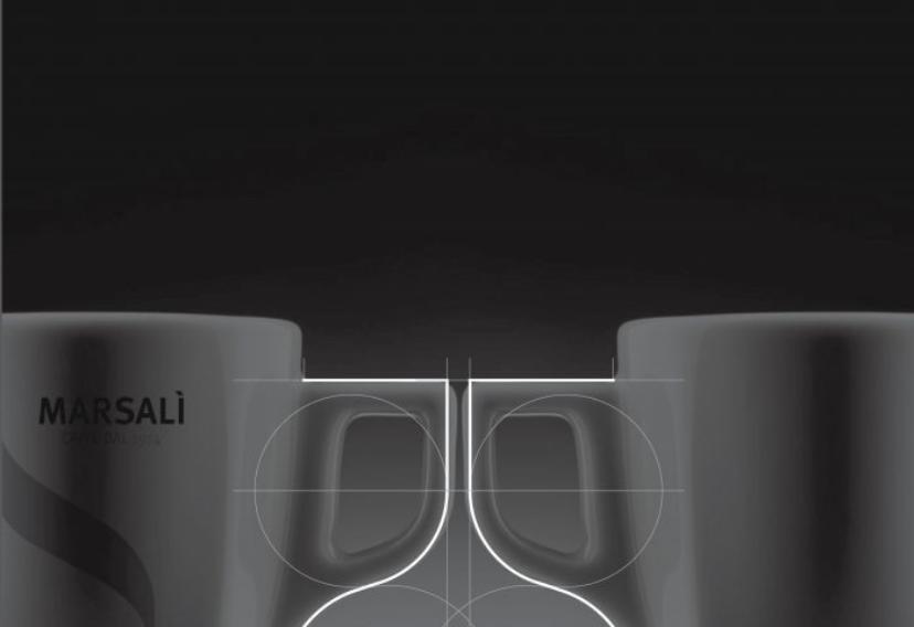 Manico tazzina caffè Marsalì, Stella Orlandino design