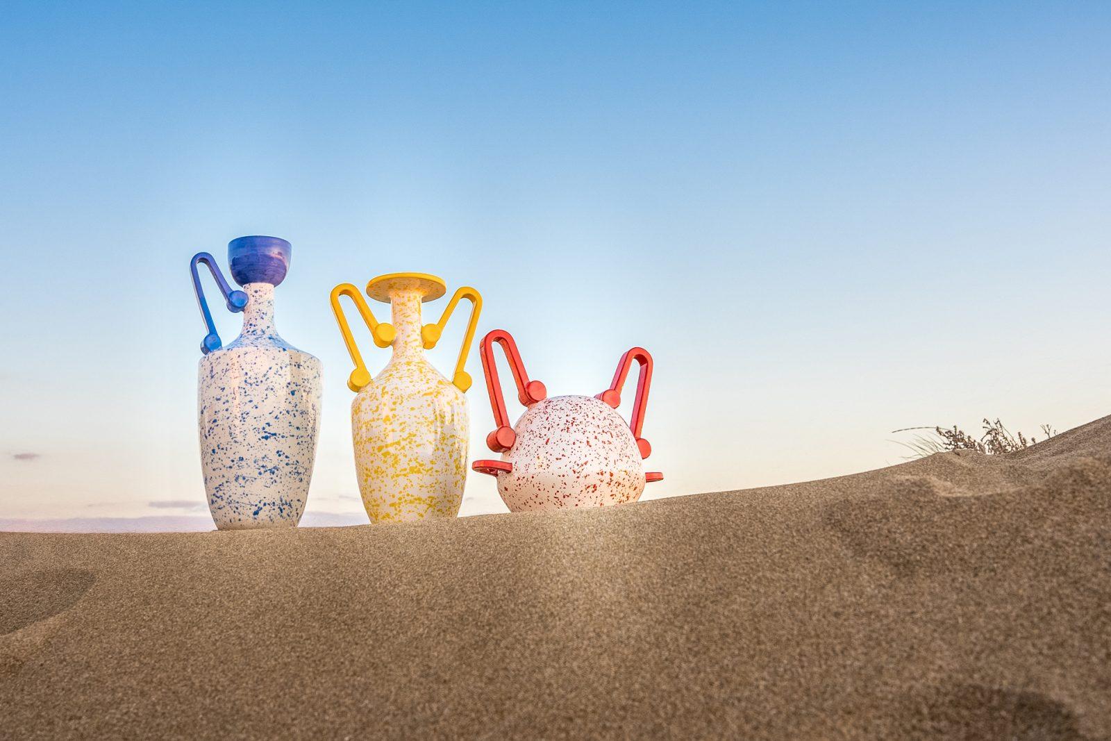 Segnacoli. Vasi di Design Stella Orlandino